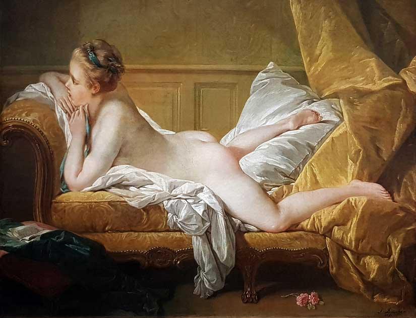 Francois-Boucher-Ruhendes-Maedchen-beruemte-gemaelde-bekannte-kuenstler