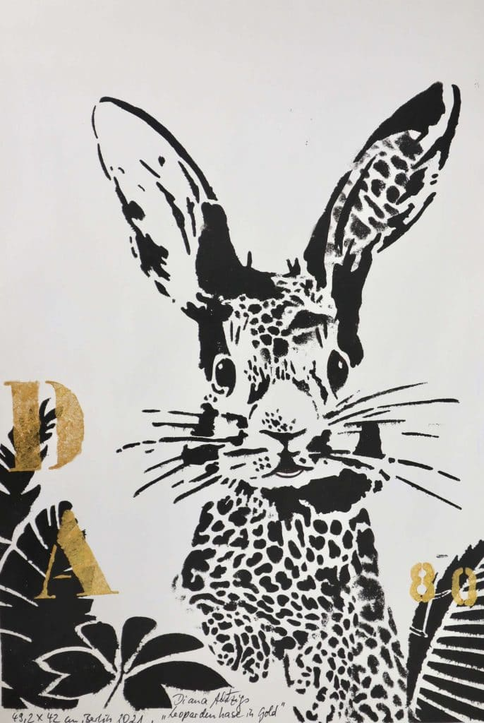 1-Diana-Achtzig-Leopardenhase-Galerie-erstererster