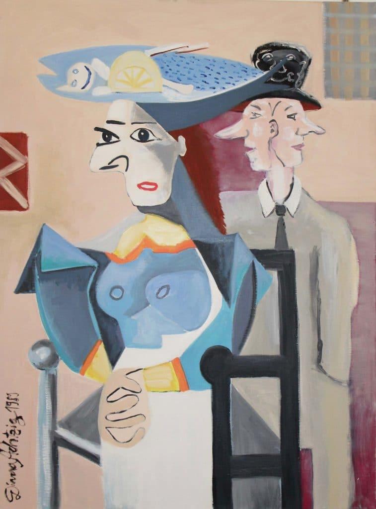 6-Diana-Achtzig-Masken-Nach-Pablo-Picasso-Kunstmarketing